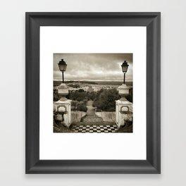 Montemor Framed Art Print