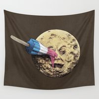 trip Wall Tapestries featuring Summer Voyage by Eric Fan