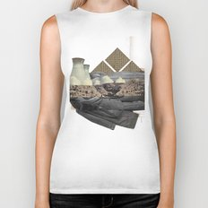 The future a time to reminisce. (mixed media) Biker Tank