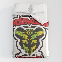Wolfmouse at the Sherman Oaks Arena Duvet Cover