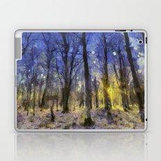 The Forest Van Gogh Laptop & iPad Skin
