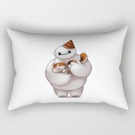 baymax hug party Rectangular Pillow