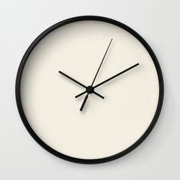 Dense Melange - White and Pearl Brown Wall Clock