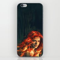 war iPhone & iPod Skins featuring War by Alice X. Zhang