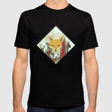 fox Mens Fitted Tee Black MEDIUM