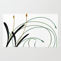 grass Area & Throw Rugs featuring Grass by DistinctyDesign