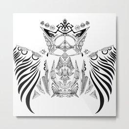 blackwing Metal Print