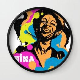 Soul Activism :: Nina Simone Wall Clock