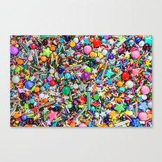 Rainbow Sprinkles - cupcake toppings galore Canvas Print