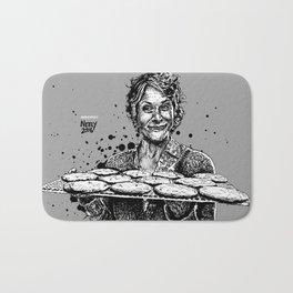 Carol's Got Cookies! From the Walking Dead. Melissa McBride in comic book form. Bath Mat