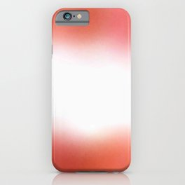 flag of austria - with cloudy colors iPhone Case