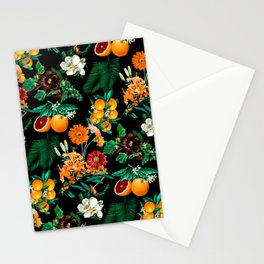 Fruit and Floral Pattern Stationery Cards