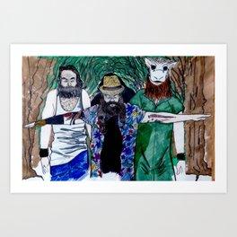 The Wyatt Family  Art Print