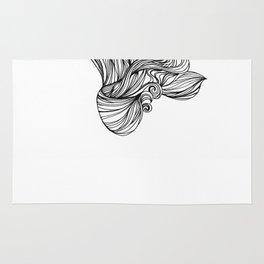 Mortal remains 2013 Ink on Paper Rug