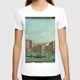 Canaletto - The Grand Canal, Venice, Looking Southeast, with the Campo della Carita to the Right T-shirt