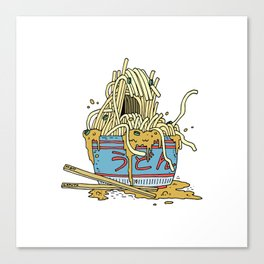 Udon Monster Canvas Print