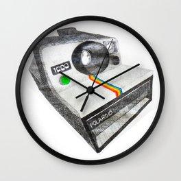 Instant Camera Wall Clock