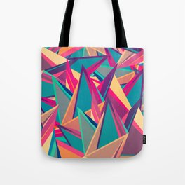 Triangles Intensive (Full) Tote Bag