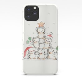 Oh Penguin Tree iPhone Case