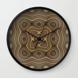 Miedocridad Wall Clock