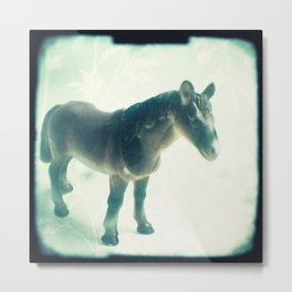Little horse Metal Print