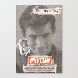 Psycho Tabloid Canvas Print