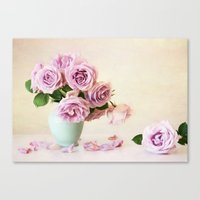 girly Canvas Prints featuring Girly by Colleen Farrell