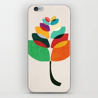 lotus flower iPhone & iPod Skins featuring Lotus flower by Picomodi