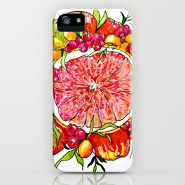 Sweet Holiday iPhone Case