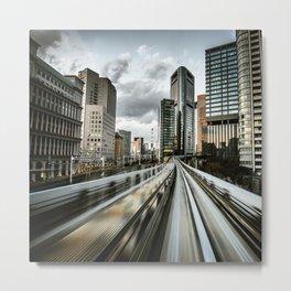 tokyo metro monorail Metal Print