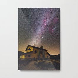 Milky Way at Ermita de las Nieves (Tenerife) Metal Print