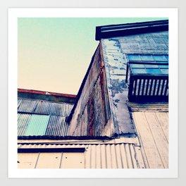 Day Eleven: Kissling Rust Art Print