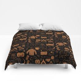 Autumn Nights: Halloween Comforters