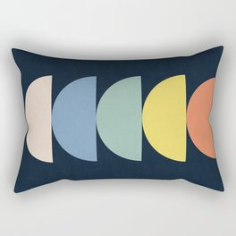Abstract Flower Palettes Rectangular Pillow