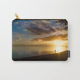 Beach Sunset- Cook Islands Carry-All Pouch
