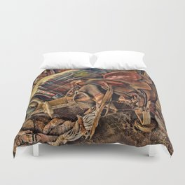 The Old Tack Room Duvet Cover