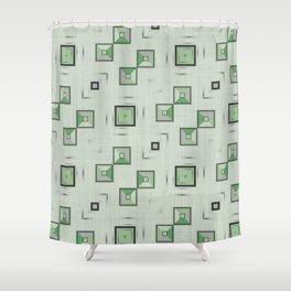 Geo FUN 06 Shower Curtain