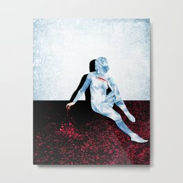 Berner L'assassin Metal Print
