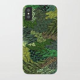 Leaf Cluster iPhone Case