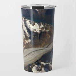 Glaciers. Travel Mug