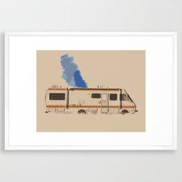 Breaking Bad RV Framed Art Print