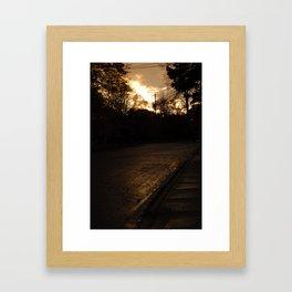 Mayfair Ave Framed Art Print