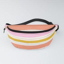 del mar, 70's stripes Fanny Pack
