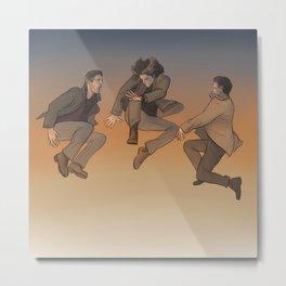 Team Free Will. Trampoline Metal Print