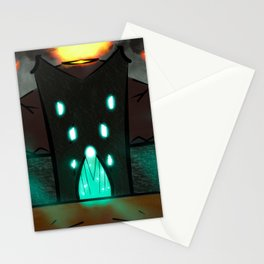 The gates to the Dark Land Stationery Cards