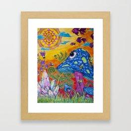 Enchanted Garden (Gallery Edition) Framed Art Print