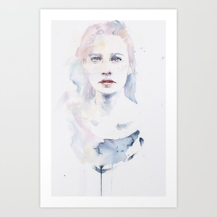Discover the motif PALE COLOR by Agnes Cecile as a print at TOPPOSTER