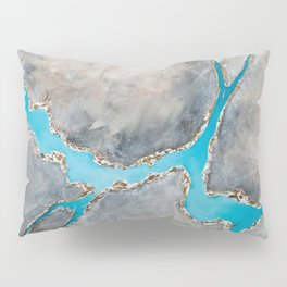 Sedimentary Topography Extended 2 Pillow Sham