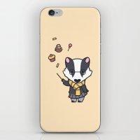 hufflepuff iPhone & iPod Skins featuring Hufflepuff by Kiell R.