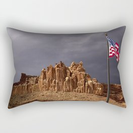 The Castle at Capitol Reef National Park, Utah Rectangular Pillow